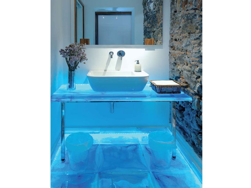 Glass Bathroom Countertops 28 Images Geos Recycled Glass Countertops Kitchen Traditional