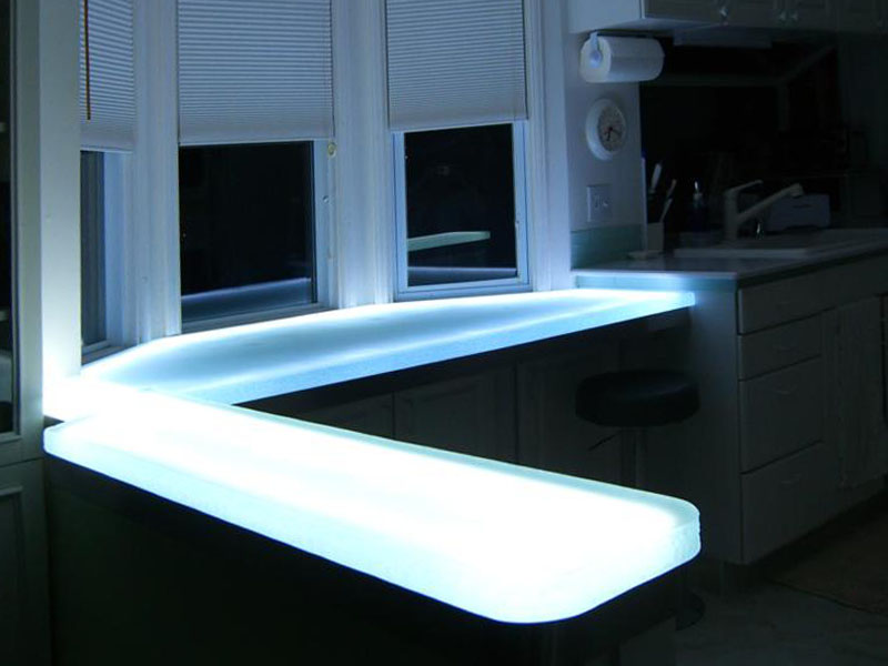 KITCHEN GLASS COUNTERTOP (KC17)