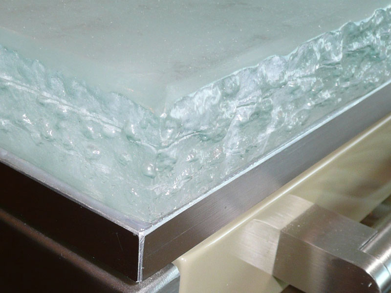 how to clean sticky countertops