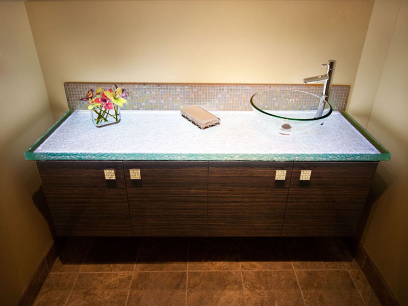 Glass Countertop For Bathroom (BC 16)