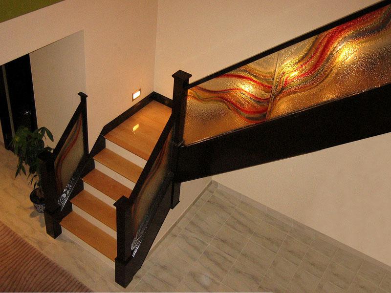Decorative Glass Railing Cbd Glass