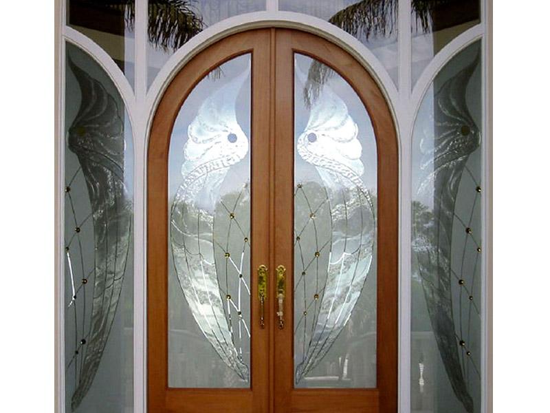 Custom Decorative Glass Doors Dl15 Cbd Glass