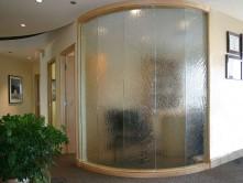 Hurricane Textured Glass