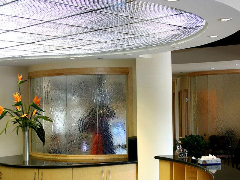 Decorative glass partition dw16 cbd glass - Decorative glass wall panels ...