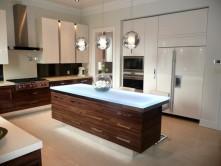 glass kitchen islands