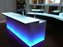 Glass Bar Counter Tops I Practical and Innovative I CBD Glass