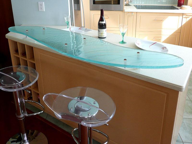 RAISED GLASS BAR TOP (RB 104)