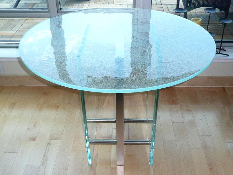 TEXTURED GLASS TABLETOP (FRT221)