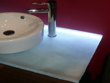 Glass Bathroom Countertops