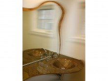 Goldstream Custom Shaped Glass Sink