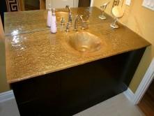 big sink on vanity