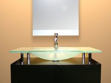 Glass Sinks & Vanities