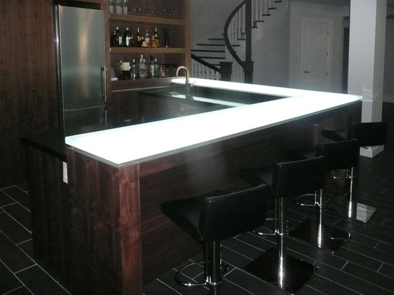 Gentil GLASS BAR TOP (GB31)