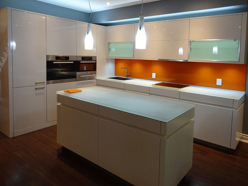 Glass Countertop for Kitchen | Sophistication and Beauty | CBD Glass