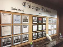 Chicago tribune sign