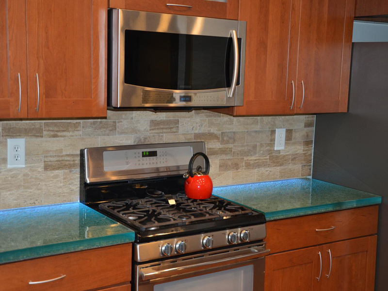 Category Glass Kitchen Countertops