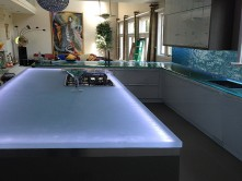 Kitchen Glass Countertops Kc24