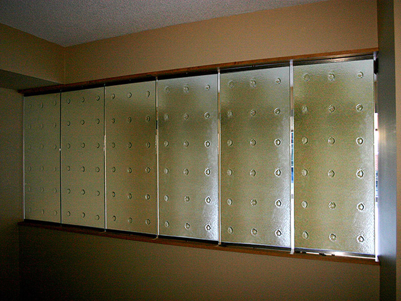 Decorative Textured Glass Wall Dw13 Cbd Glass