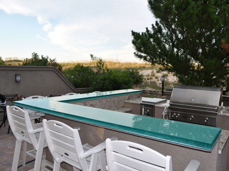 GLASS BAR TOP FOR OUTSIDE (GB30)