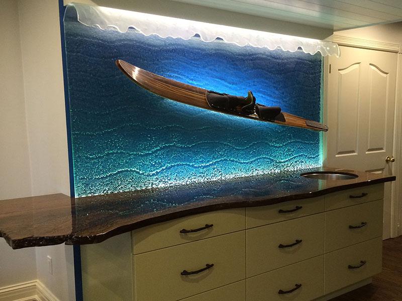 Decorative Textured Glass Cbd Glass