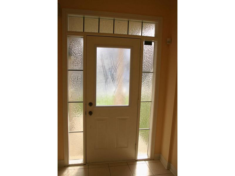 TEXTURED GLASS DOOR LIGHTS (DL17)
