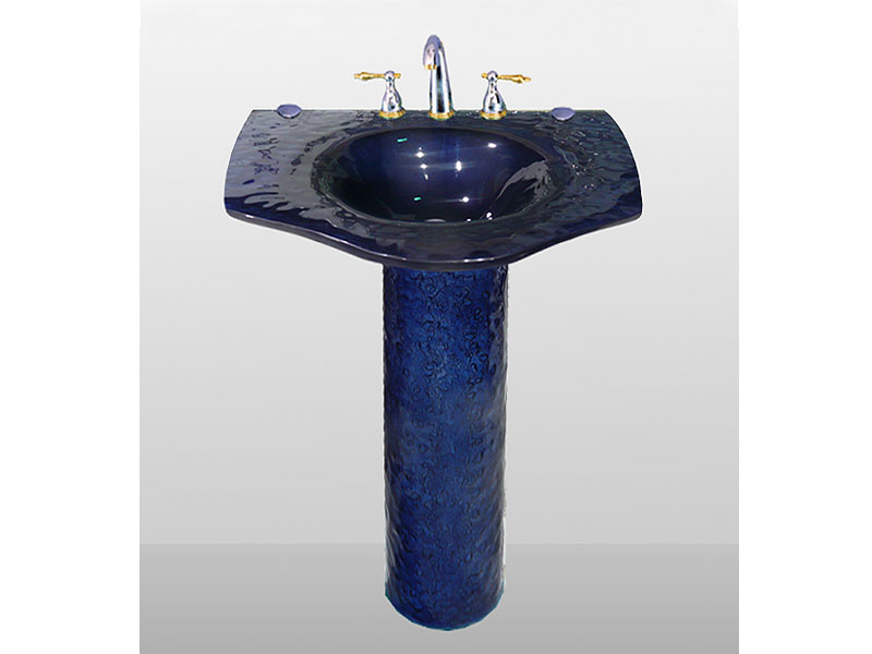 Pedestal Glass Sinks Bathroom Cbd Glass