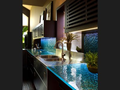 kitchen glass countertop kc12 - Glass Kitchen