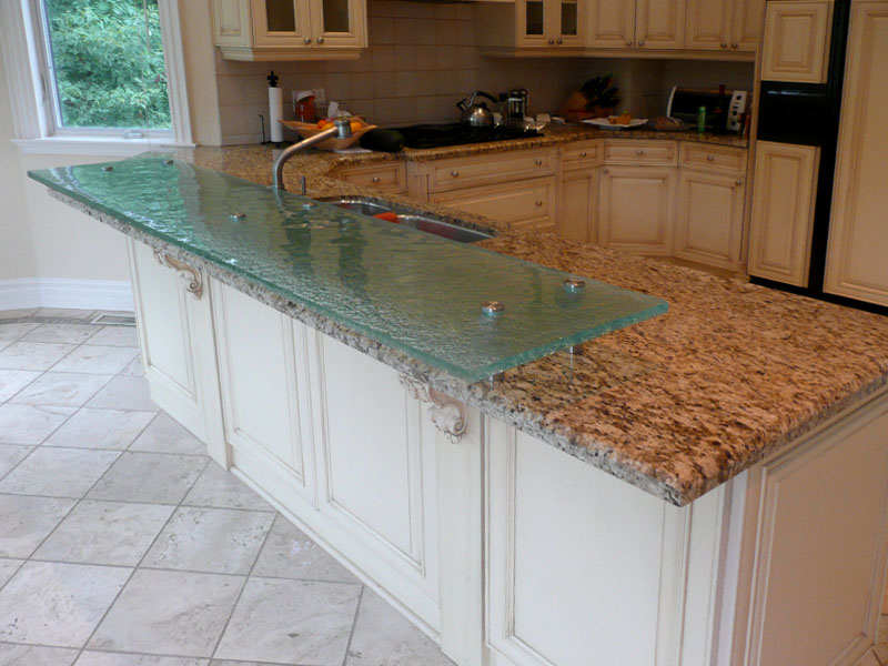 Raised Glass Countertop Innovative Design Cbd Glass