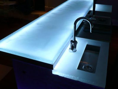 About Glass Countertops
