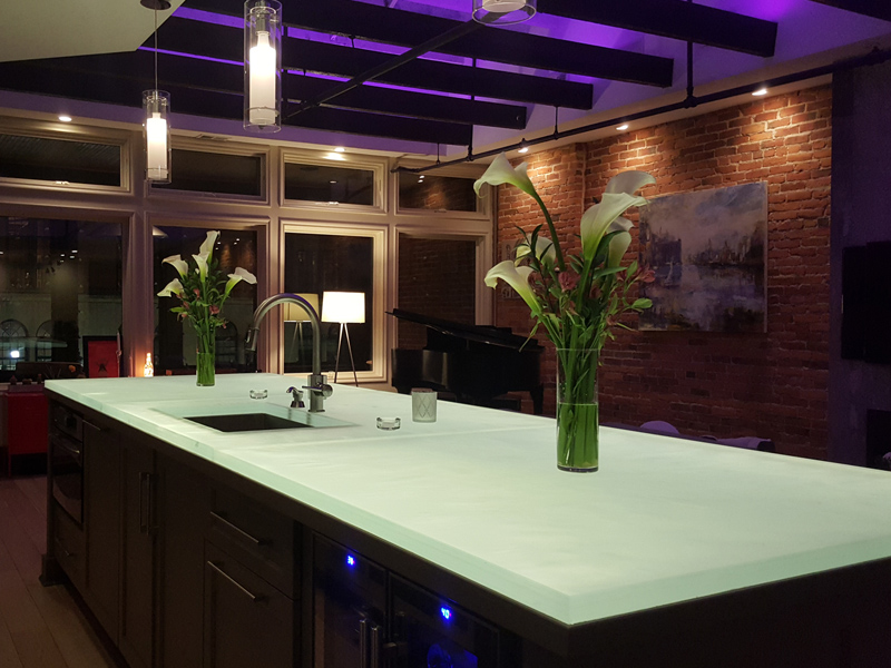 Beautify Your Space with Glass Kitchen Islands from CBD Glass - CBD ...